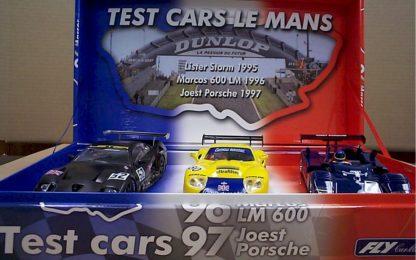 Fly LM01 Le Mans test day cars 3-car set