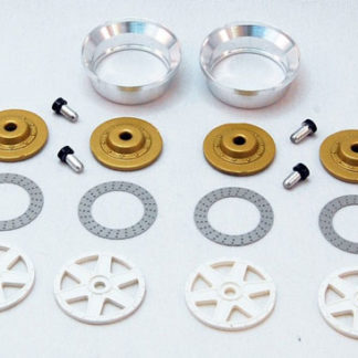 BRM S-019 Insert wheels Front/Rear 6 Spokes