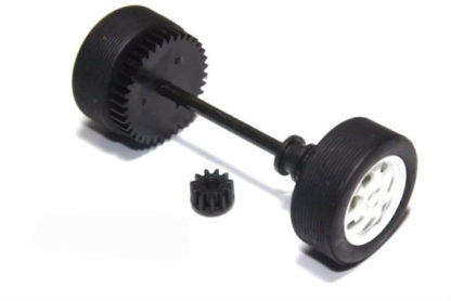 Scalextric W8696 rear axle assembly Mini Cooper