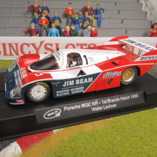 "Slot.it SICA17D Porsche 962C KH #1 ""Jim Beam"" Brands Hatch 1990"