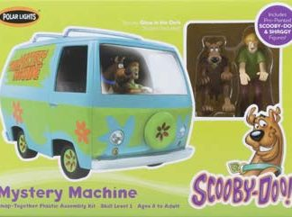 POLAR LIGHTS SCOOBY DOO MYSTERY MACHINE SNAP MODEL KIT WITH SHAGGY FIGURE plls0814