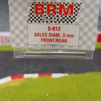 BRM S-012 3MM axles