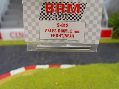 BRM S-012 3MM axles