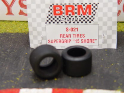 BRM S-021 Rear Tires Supergrip 15 Shore