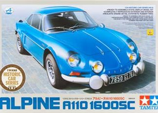 Tamiya 89676 1/24 Scale Car Model Kit Alpine A110 1600SC