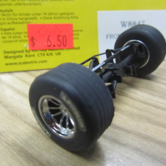 Scalextric W8847 Williams F1 Front Axle Rims