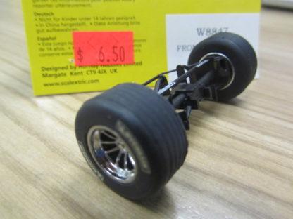 Scalextric W8847 Williams F1 Front Axle Rims