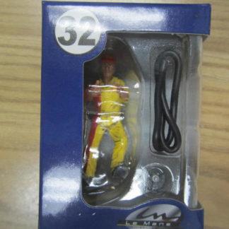 Le Mans Miniatures Figure FLM132032 Maurice Refueller