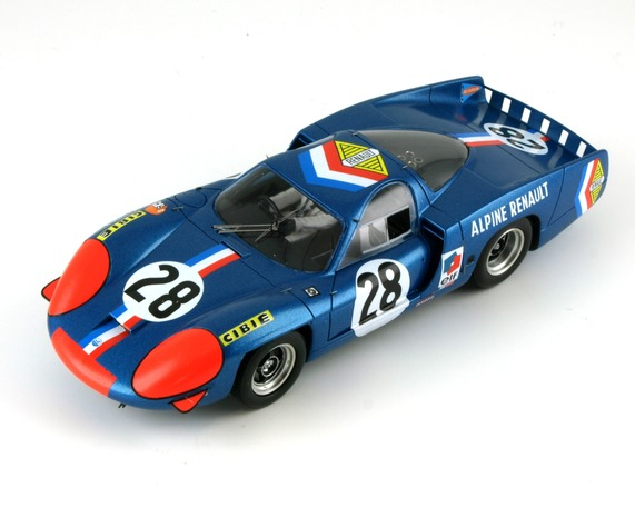 le mans miniatures 132044 28 renault alpine a220 1968 28. Black Bedroom Furniture Sets. Home Design Ideas