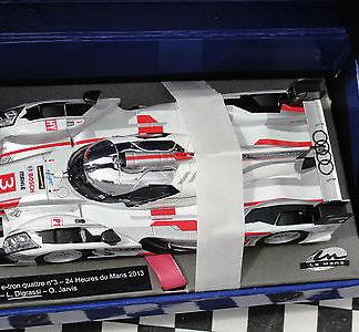 Le Mans Miniatures 132062/3m Audi R18 e-tron quattro 2013