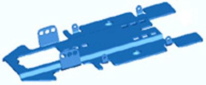 TSRF T3216 Nickel Plated Steel Pan 1/32