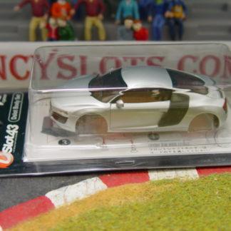 Kyosho DSP2010101 Silver Audi R8 Body 1/43