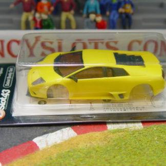 Kyosho DSP2020106 Yellow Lamborghini Murcielago Body 1/43