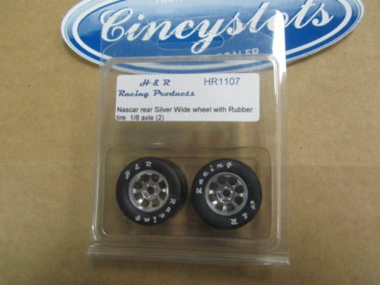 H&R Racing Products HR1107 Nascar Wide Rubber for 1/8
