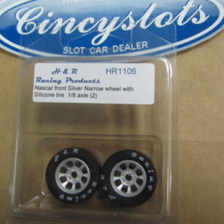 H&R Racing Products HR1106 Nascar Narrow Silicone for 1/8