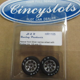 H&R Racing Products HR1105 Nascar Narrow Rubber for 1/8