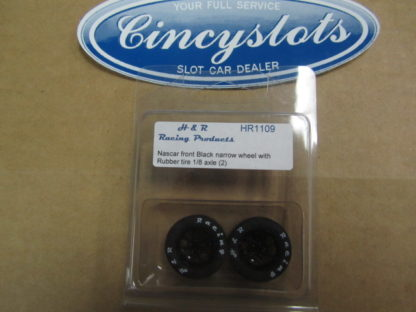 H&R Racing Products HR1109 Nascar Front Black Rubber for 1/8