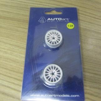 AutoArt 14731-03 Wheel Set for 1/24 Citroen