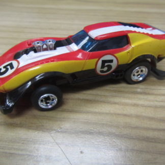 Vintage '70's Lionel Power Passers CORVETTE Gasser Slotless HO Racing Car NEW