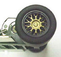 TSRF T3218 BBS Type 2 Wheel Inserts for 1/32