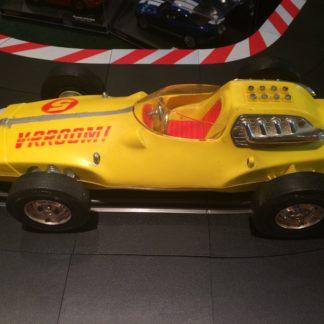 MATTEL 1963 V-RROOM! YELLOW WHIP RACER. MH