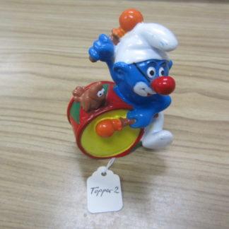 Smurf Clown topper 2