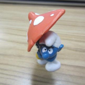 Smurf with a Mushroom Umbrella BOX 4