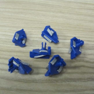 Scalextric C8145 Blue Guide with Braid 6pk