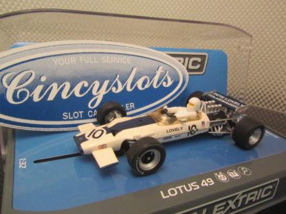 Scalextric C3707 Lotus 49 Pete Lovely Slot Car