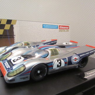 Carrera D124 23797 Porsche 917k Martini SLIGHTLY USED Slot Car