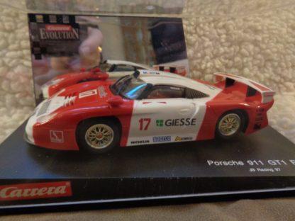 Carrera Evolution 25402 Porsche 911 GT1 Giesse Slot Car