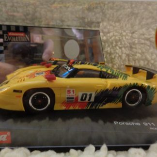 Carrera Evolution 25403 Porsche GT1 Rohr Slot Car