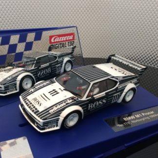 Carrera D132 30815 BMW M1 Procar #111 BOSS Slot Car