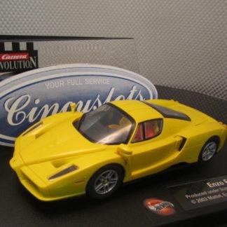 Carrera Evolution 25703 Enzo Ferrari Yellow Slot Car