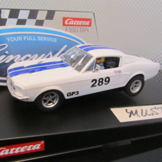 Carrera Evolution 27450 1968 Ford Mustang 289 Slot Car