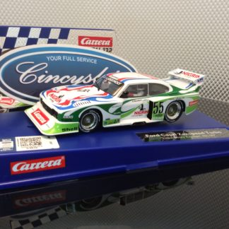 Carrera D132 30817 Ford Capri Zakspeed Turbo Liqui Moly #55 Slot Car