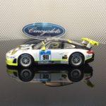 Carrera D132 30780 Porsche 911 GT3 RSR Manthey Racing Slot Car