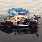 Carrera D132 30808 Ferrari 488 GT3 Black Bull Racing #46 Slot Car
