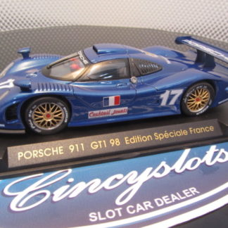 Fly E74 Porsche 911 GT1 98 Limited French Edition Slot Car