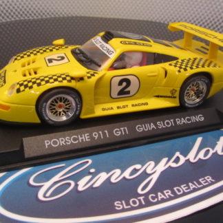 Fly E31 Porsche 911 GT1 Limited Cric Crac Edition Slot Car