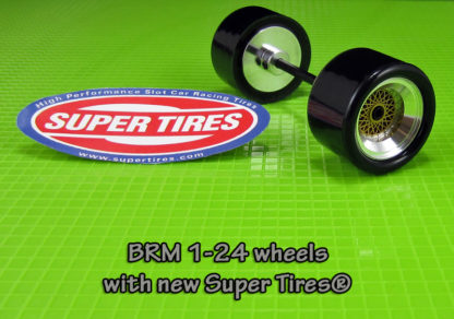 Super Tires ST014 for the S-014 1/24 BRM Wheels