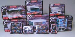 Carrera Slot Car Buildings and Figures