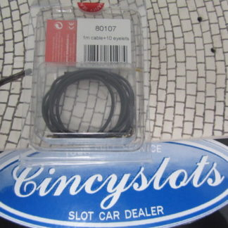 Ninco 80107 1M Cable and 10 Eyelets