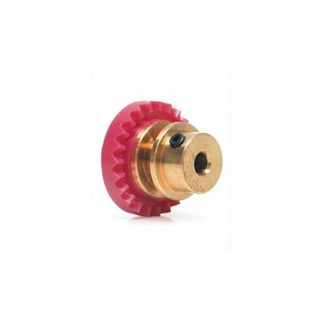 Slot.it SIGI23BZ 23T Bronze Inline Crown Gear Pink