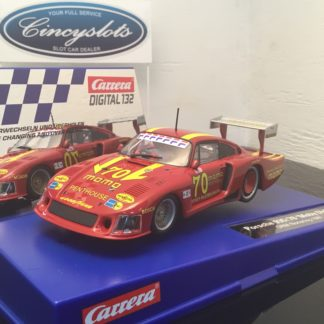 Carrera D132 30855 Porsche 935/78 Momo Moby Dick Norising Digital Slot Car.
