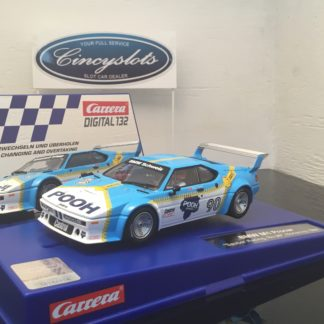 Carrera D132 30830 BMW M1 Procar Sauber Racing #90 Digital Slot Car.