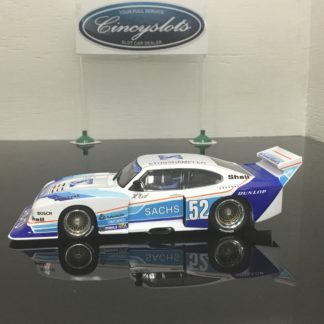 Carrera D132 30831 Ford Capri Zakspeed Turbo Sacks Sporting #52 Digital Slot Car.