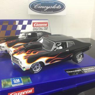 Carrera D132 30849 Chevrolet Chevelle SS 454 Super Stocker Digital Slot Car.
