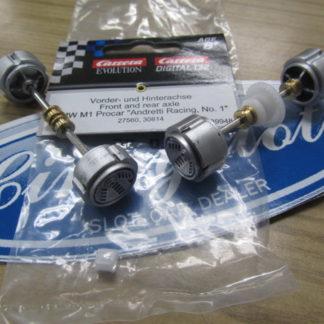 Carrera D132 89948 BMW M1 Procar Andretti Racing Axles.