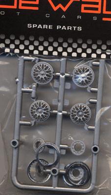 Sideways MK05A Dallara DP Rim Inserts BBS Type w/Trim Rings.